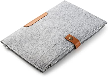 Parblo 10x 7.5inch PR-10 Wool Liner Bag Sleeve Case Cover Carrying Bag for Drawing Graphic Tablet/iPad 2/3/4/Air