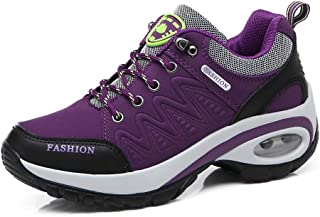 ZFLIN Senderismo Zapatos al Aire Libre Antideslizante Gruesa Inferior para Caminar Zapatos Mujeres