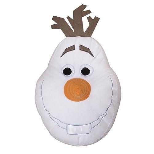 Disney Frozen Olaf Shaped Cushion