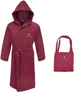 accappatoio uomo//donna con cappuccio microfibra RENATO BALESTRA con borsetta