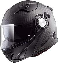 LS2 Helmets Unisex-Adult's Modular Vortex (Carbon Matte, Large)
