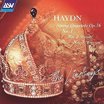 Haydn: String Quartets, Op.76, Nos. 1, 2 & 3