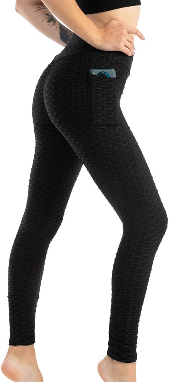 cooki TikTok Leggings Womens High Waist Yoga Pants Tummy Control Slimming Booty Leggings Workout Running Butt Lift Tights