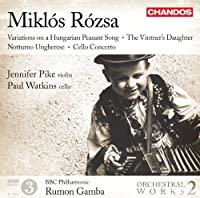 Rozsa: Orchestral Works, Vol. 2 by Pike (2011-06-28)