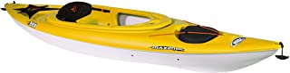 Pelican Maxim 100X Sit-in Recreational Kayak Kayak 10-Foot Lightweight one Person Kayak Perfect for Recreation, Yellow, On...