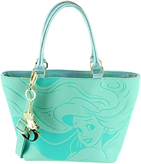 Loungefly Women's Disney The Little Mermaid Faux Leather Saffiano Tote Bag