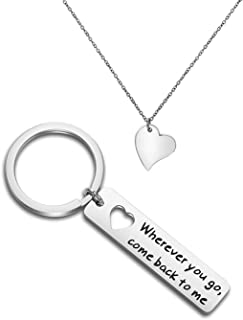 Best couples keychain and necklace Reviews