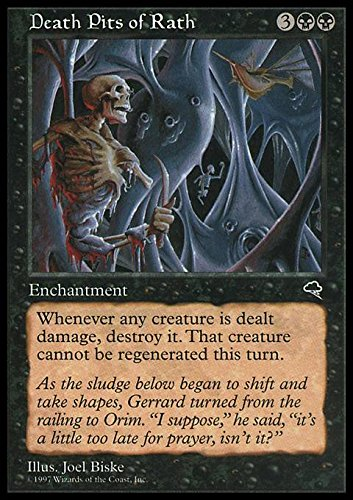 Magic The Gathering  Death Pits of Rath  Tempest