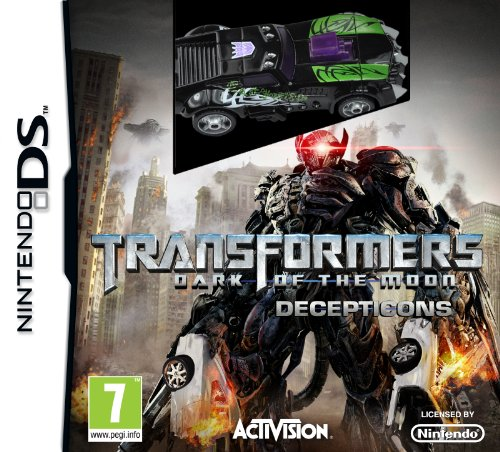 Transformers 3 : dark of the moon - decepticons (toy included) [import anglais]