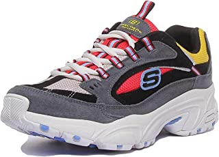Skechers Stamina Lace Up Cross Road Trainer