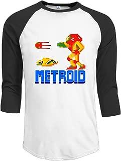 Metroid NES Video Game USA Boy Baseball T-Shirts