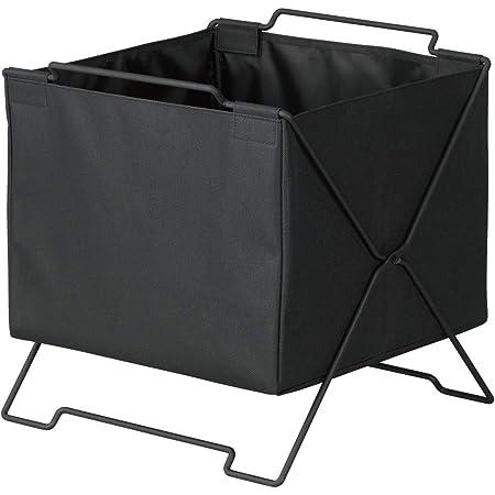 キングジム 収納ボックス スタックバスケット KSP002S クロ