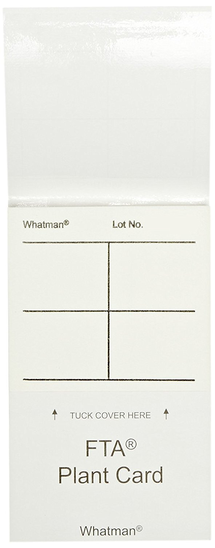 GE Whatman FTA WB120365 PlantSaver Card Dedication with 4 x Sample 25µL Finally resale start
