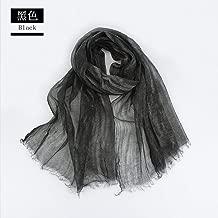 GYMAA Scarf Women'S Natural Silk Wool Scarf Print Silk Shawl Silk Scarf 185 * 70Cm Winter Fall
