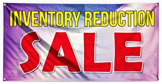 Inventory Reduction Sale Outdoor Advertising Printing Vinyl Banner Sign With Grommets - 3ftx6ft, 6 Grommets
