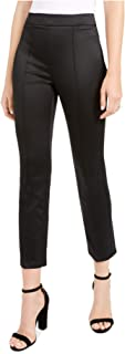 NANETTE LEPORE Womens Black Solid Straight leg Pants AU Size:12