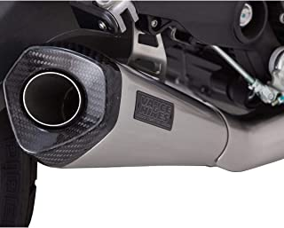 Vance & Hines 15-19 Ducati SCRAMFUL Sport Taper Slip-On Exhaust (Stainless with Carbon END Cap)