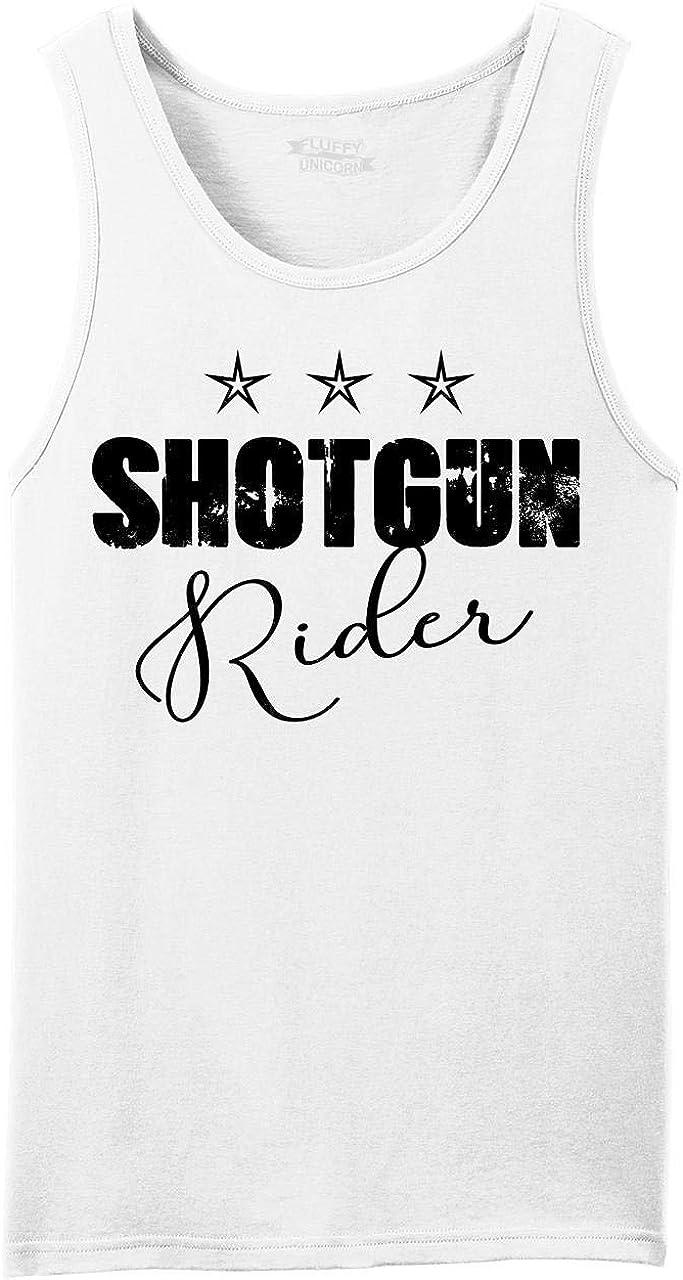 Comical Shirt Men's Shotgun Tank Today's only Top Ranking TOP11 Rider