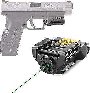 JDAMALEYWO Compact Tactical Green Dot Laser Sight for Handguns Rifle Pistol