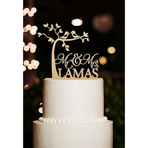 Rustic Wedding Cake Toppers Amazoncouk