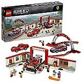 LEGO Speed Champions - Taller Definitivo de Ferrari, Set de Construcción de Formula 1, Juguete de Carreras de Coches (75889) , color/modelo surtido