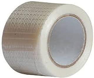 Cricket World Bat Tape Roll 50 Meter Heavy Anti Scuff Fiber Glass Super Glue (5inch Wide) Bat Face Covering Edges Repair Tape (1PC)