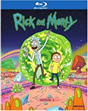 Rick & Morty: 1 Temporada, [Blu-Ray+Digital HD Ultraviolet] [USA] [Blu-ray]