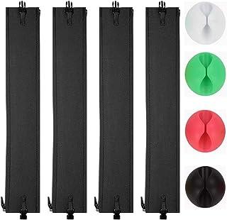 配線カバーケーブルカバー,コード カバーワイヤーケーブルトレーケーブル保護カバーケーブル 収納配線隠し配線ボックスコード 収納配線 隠しケーブルタイケーブルオーガナイザーケーブル 整理