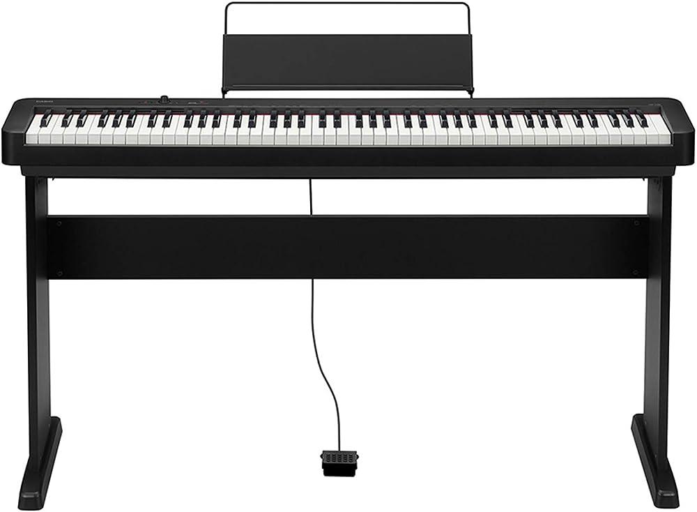Casio piano digitale professionale a 88 tasti pesati e 64 voci polifonica CDP-S100-BK+CS-46P-BK