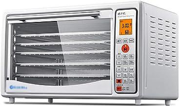 Máquina de conservación de alimentos para el hogar Deshidratador de alimentos, pantalla táctil electrónica Control de temperatura de sincronización Acero inoxidable Bandeja de 5 capas Secado comercial
