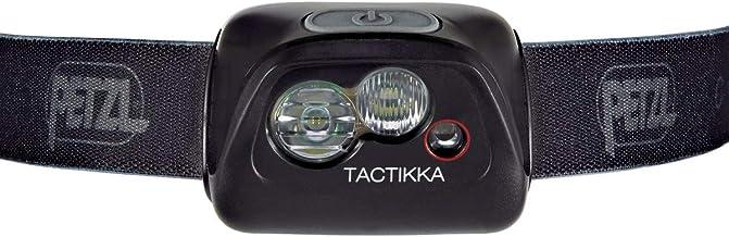 PETZL, TACTIKKA Headlamp, CORE 450 Lumens, with ACCU CORE, Black