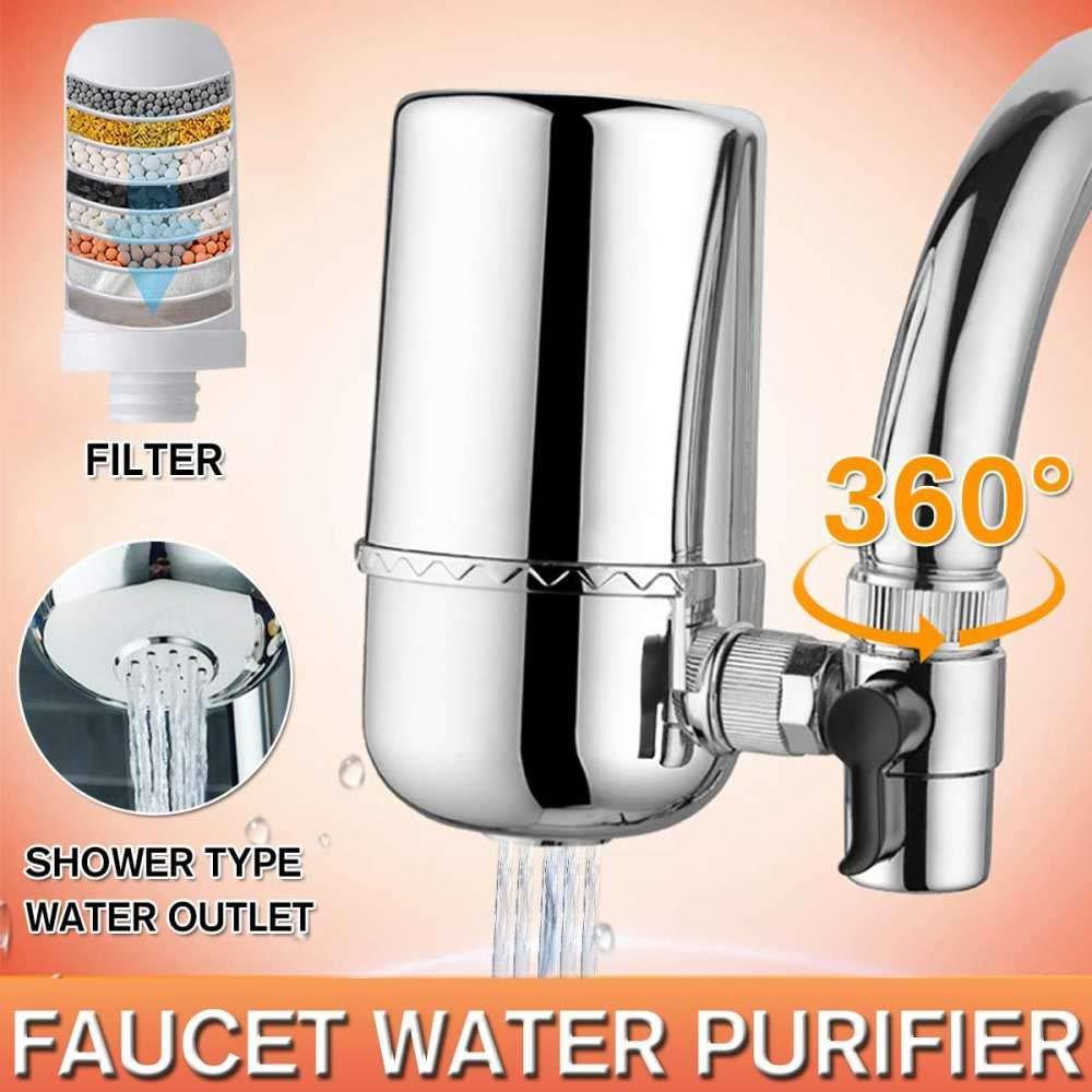 Jie Ling Bai purificador de agua en casa filtro de grifo para ...