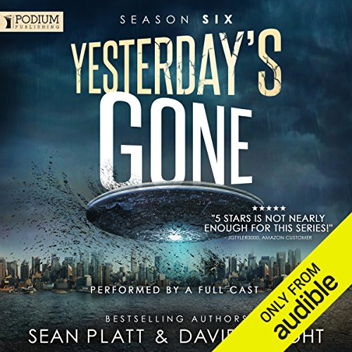 Yesterday's Gone: Season Six audiobook cover art