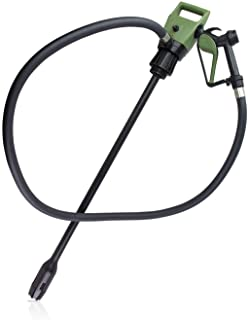 """TERA PUMP TReDRUMS 33.5"""" Standard Plug-in Electric Drum Barrel Pump for DEF, Diesel, Water(NOT for Drinking Water/Gasoline/Flammable Liquids/Concentrated Acids)"""