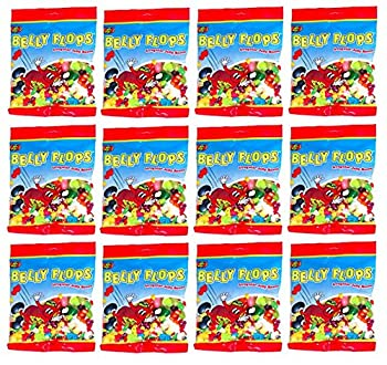 Jelly Belly Belly Flops Irregular Jelly Beans 12 Bags of 4.7 Ozs