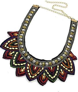 Sharplace Collare Girocollo con Collana Bavaglino per Ornamenti Vintage da Donna Party Party Club
