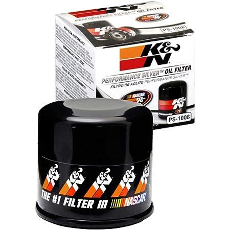 K&N Filtro de aceite Premium: diseñado para proteger tu motor: se adapta a modelos de vehículos selectos de INFINITI/MAZDA/NISSAN/SUBARU (ver descripción del producto para la lista completa de vehículos compatibles), PS-1008