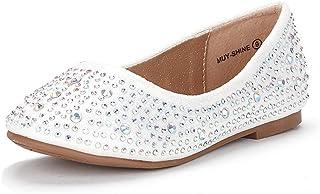 2ea975729 DREAM PAIRS MUY Girls Dress Shoes Slip on Ballerina Flats(Toddler/Little  Kid/
