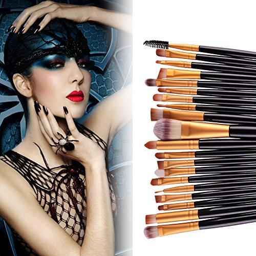 Hansee Lot de 20 pinceaux de maquillage