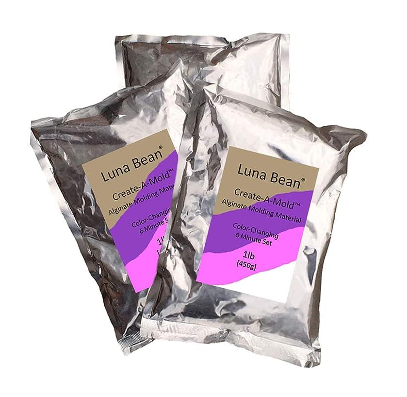 Luna Bean Create-A-Mold Craft Alginate Molding Powder for Life Casting (3 lbs)