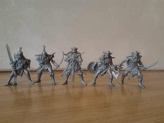 Fantasy Battles Viking Warriors 54 mm 1/32 - 5 Fantasy Sci-Fi Tehnolog Russian Toy Soldiers