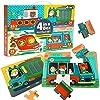 CORPER TOYS ジグソ--パズル 4IN1 木製パズル パズルおもちゃ はめ絵 4種類レベル かわいい 動物 車 シリ...