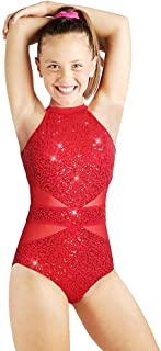 Beamlet Gymnastics Leotards for Girls Sparkly Dancewear Bling and Shiny