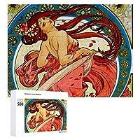 INOV 芸術 ダンス ジグソーパズル 木製パズル 500ピース キッズ 学習 認知 玩具 大人 ブレインティー 知育 puzzle (38 x 52 cm)