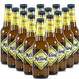 Birra Messina | Ricetta Classica | Lager Artigianale Siciliana | 24 Bottiglie 33Cl | Idea Regalo