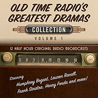 Old Time Radio's Greatest Dramas, Collection 1                   By:                                                                                                                                 Black Eye Entertainment                               Narrated by:                                                                                                                                 Full Cast                      Length: 5 hrs and 27 mins     Not rated yet     Overall 0.0