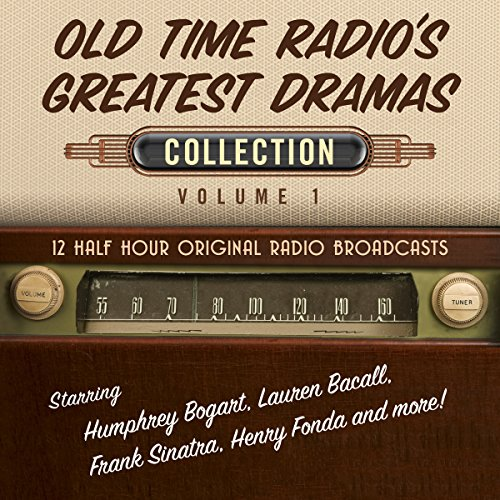 Old Time Radio's Greatest Dramas, Collection 1 cover art