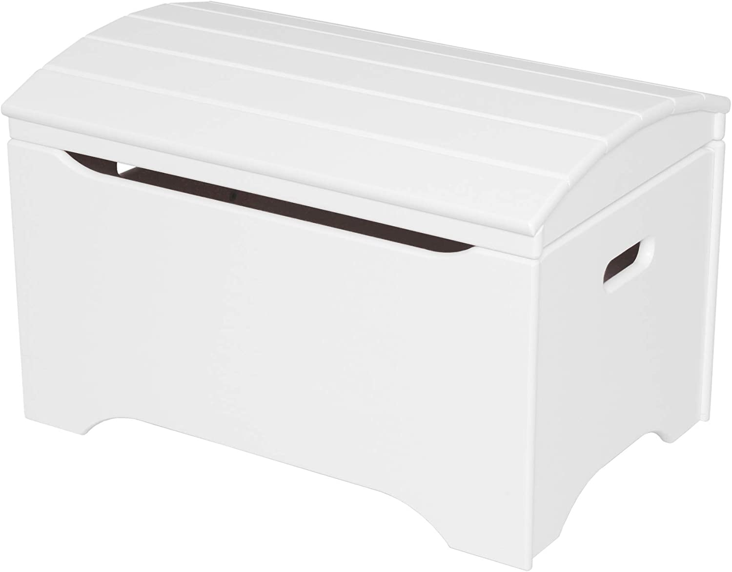 Sturdy Little Colorado Treasure Toy Chest Wooden Toy Chest for Kids//No Assembly Needed//Handcrafted in The USA Solid White