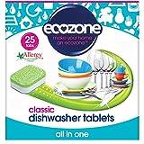 Ecozone All in One Classic tabletas para lavavajillas, 25 tabletas