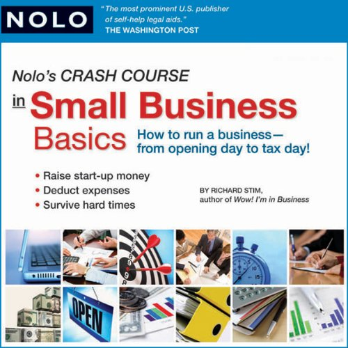 Nolo's Crash Course in Small Business Basics audiobook cover art